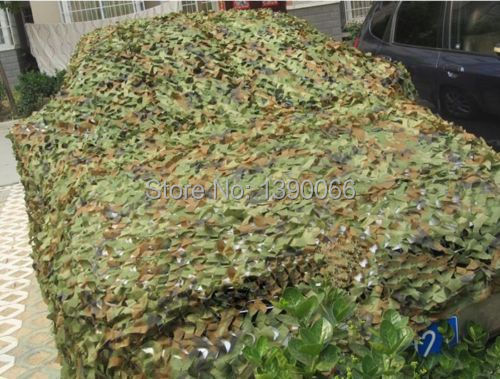 10X16ft Jungle Camouflage Net Military car camo cover Woodland Leaves camo netting For Camping Hunting home decoration camo net 4x5m home decoration desert camouflage net outdoor camping sun shelter high quality military camouflage netting