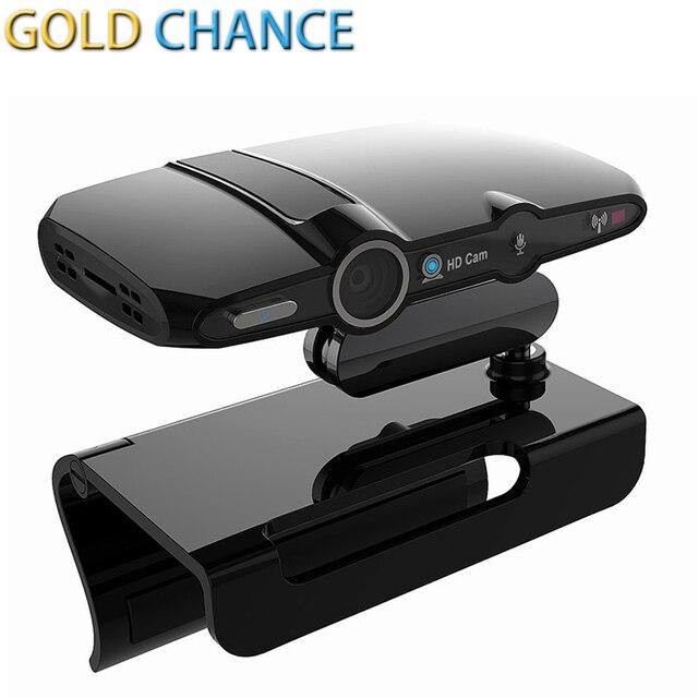 뜨거운 판매 HD23 Tv 박스 5.0MP 카메라 Allwinner 듀얼 코어 TV 상자 1 기가바이트 8 기가바이트 안드로이드 4.4 HDMI 스마트 TV 박스 내장 DSP 마이크 스피커