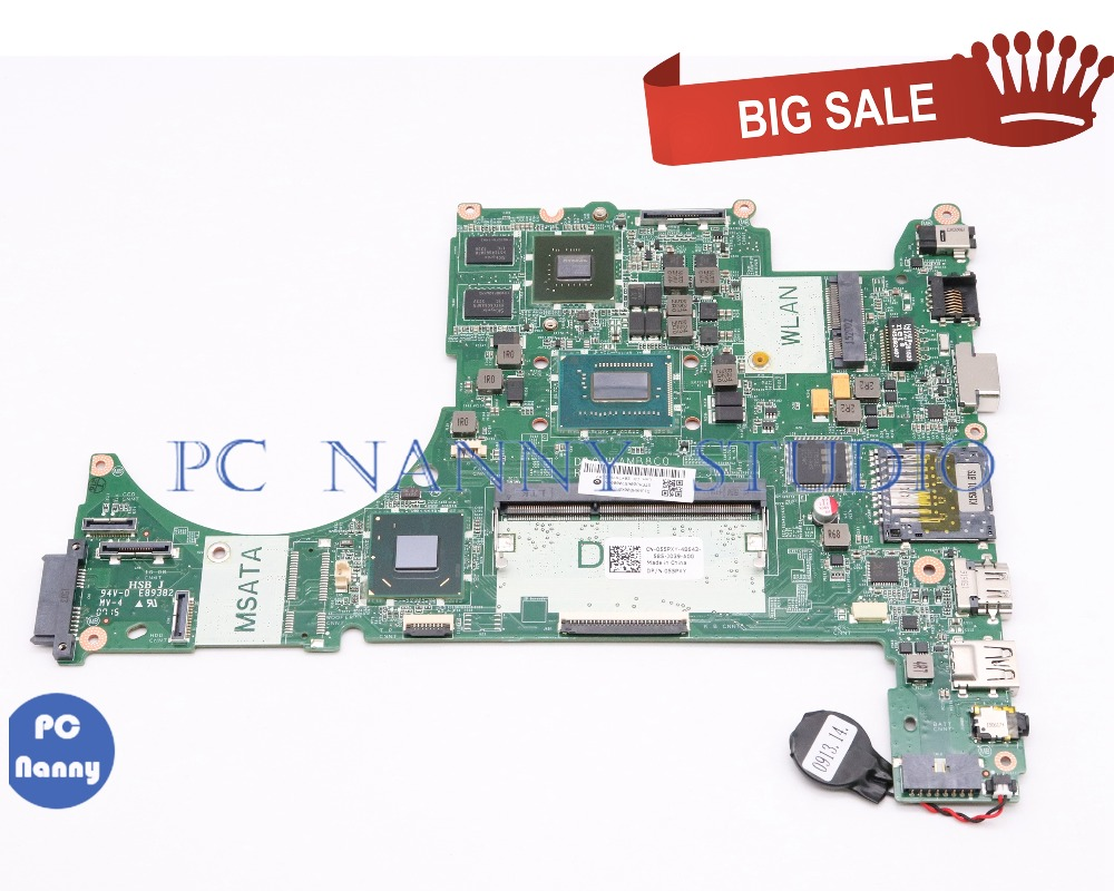 PCNANNY 055PXY 055PXY 55PXY DA0JWAMB8C0 For dell Vostro 5560 <font><b>laptop</b></font> motherboard <font><b>i5</b></font>-<font><b>3230M</b></font> GeForce GT630M tested image