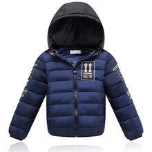 JMBEAR winter jacket boy down coat  girls snowsuit hooded children's warm wear removable cap outerwear 4-12 years