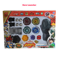 New 3 Style Fashion Set Beyblade Fusion Master Fight Set 4D Launcher Toy Set Spinning Top