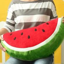 1 unid 3D Creativo Fruta Sandía Cojines Juguetes de Peluche Cojín Del Sofá Almohada Juguetes de Peluche de Regalo de Cumpleaños Fruta de Kiwi