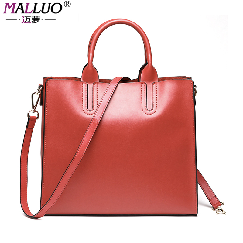 MALLUO genuine leather women bags luxury handbags designer women messenger bag Bolsa Feminina  famous brand totes large captial doodoo women bag genuine leather famous brand cowhide women messenger bags bolsa femininas luxury brand ladies hand bags t437