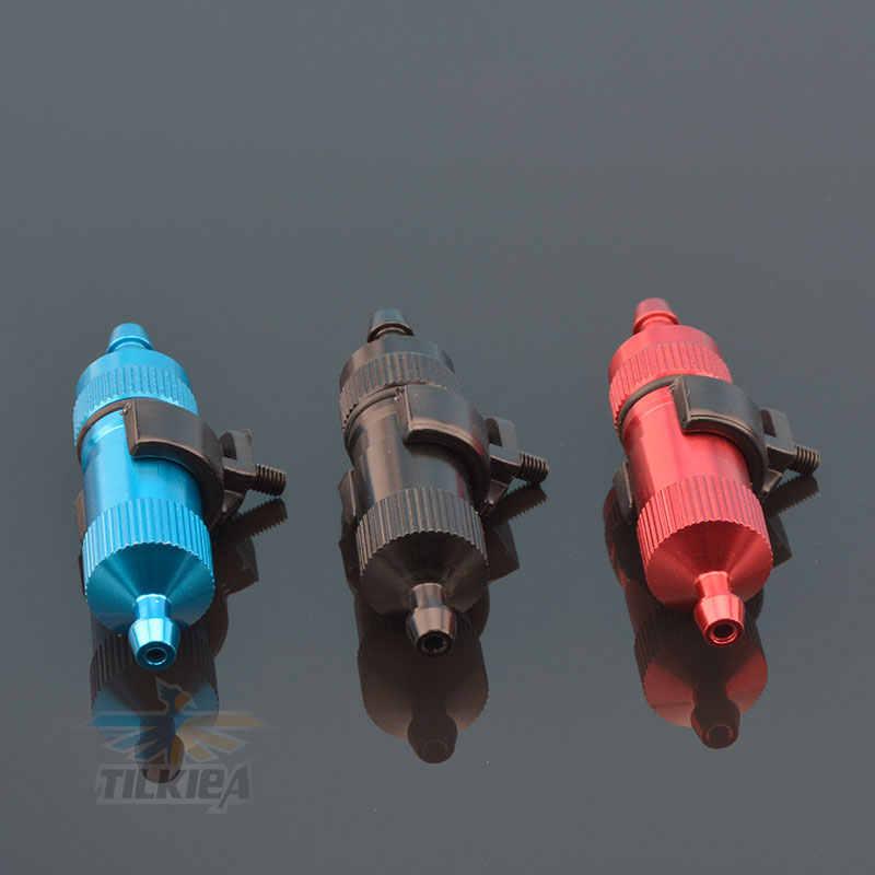 1 st Rc Boot Blauw Brandstof Filter Prima voor GAS Nitro Rc Model Boot Nemen Elkaar Type Aluminium L50mm
