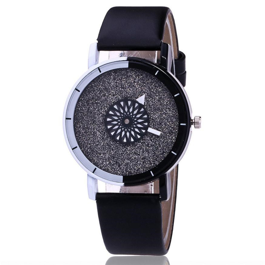 Vansvar Brand Unique Dial Design Watch Leather Wristwatches Fashion Creative Watch Women Men Quartz Watch Relogio Feminino 533Vansvar Brand Unique Dial Design Watch Leather Wristwatches Fashion Creative Watch Women Men Quartz Watch Relogio Feminino 533