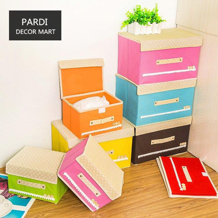 Красочные большой ящик для хранения одежды одеяло коробка для хранения всякой всячины медицинская коробка 1 шт./лот
