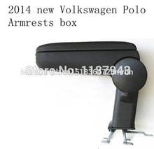 купить VW 2011 2012 2013 2014 POLO armrest central box / storage box console box онлайн