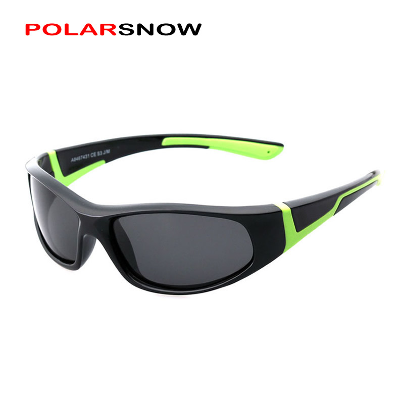 New Fashion Summer Style Outdoor Sport Kids Polarized Sunglasses With High Quality