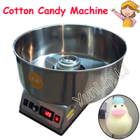Cotton Candy Machine Commercial Sugar Floss Making Children Stainless Steel Electric DIY Candy Cotton Floss Maker CC 3803H