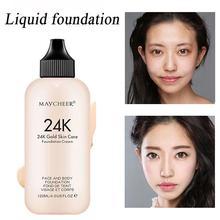 Women Makeup Moisturizing Liquid Foundation Face Concealer Waterproof Lasting Foundation цена