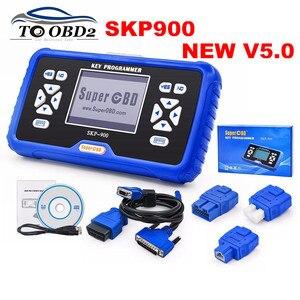 Image 1 - 최고의 품질 2020 원래 새로운 SKP900 V5.0 SKP 900 최고의 핸드 헬드 OBD2 키 프로그래머 지원 거의 자동차 업데이트 온라인 SKP 900