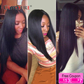 Peruvian Virgin Hair Straight 3 Bundles 8A Cynosure Hair Products Soft Peruvian Straight Virgin Hair 100% Unprocessed Human Hair