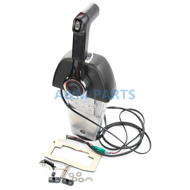 Подвесной Binnacle дистанционное управление коробка для YAMAHA мотор для морской лодки Binnacle/консоли крепление 704 один