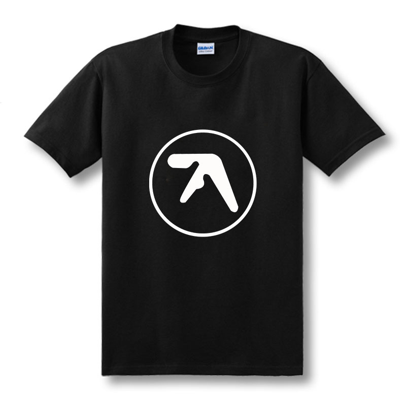 Fashion New Mens Aphex Twin T Shirt Popular Brand Aerosmith Tshirts Printed O Neck Music Short Sleeve Top Tees  Size XS-XXL