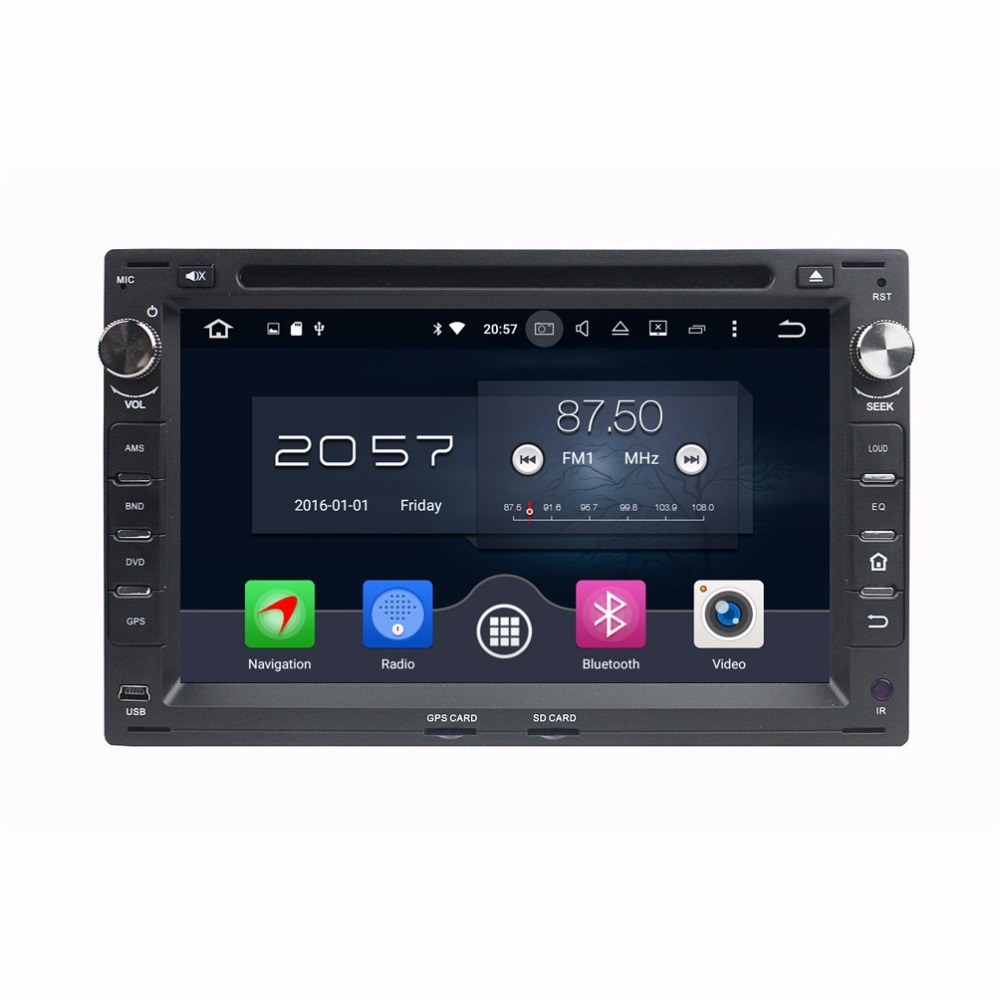 octa core 2 din 7 android 6 0 car radio dvd gps for vw. Black Bedroom Furniture Sets. Home Design Ideas