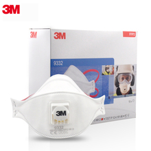 3M 9332 9322  Dust Mask Particulate Respirator Safety Breathing Masks Anti-fog PM2.5 Dust-proof Riding Protective Mask цены онлайн