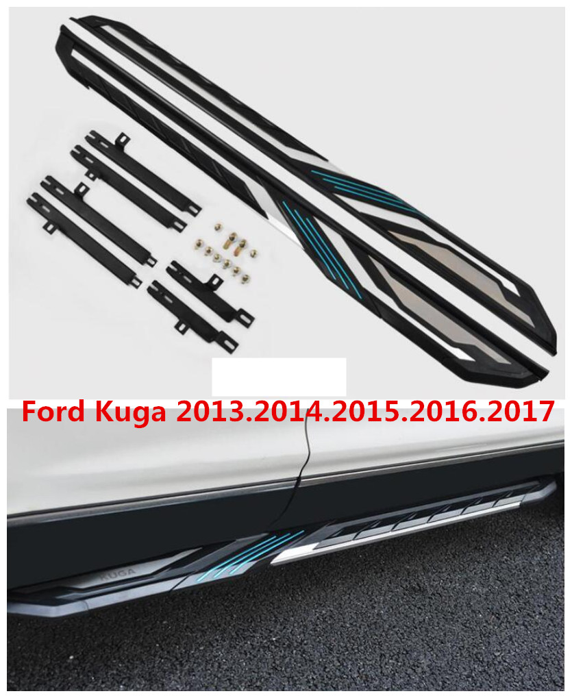 For ford kuga 2013 2014 2015 2016 2017 auto running boards side step bar pedals high