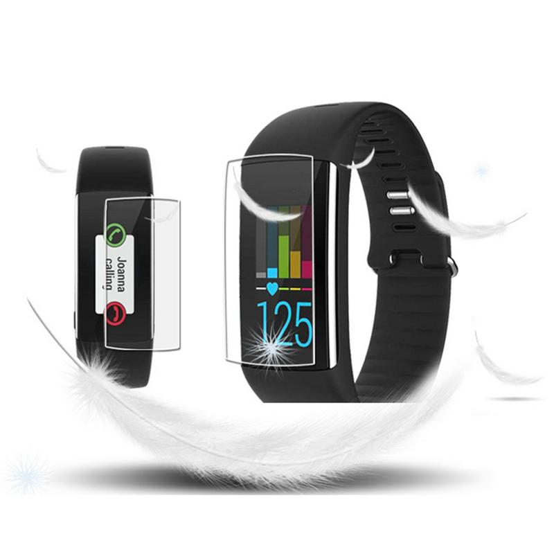 2Pcs Ultra Clear TPU Full Screen Protective Film Anti-shock Soft Protector Guard Cover Skin For Polar A360 A370 Smart Watch