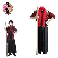 Popular Adults Kashuu Kiyomitsu Japanese Anime Costume Cosplay Touken Ranbu Cleaning Clothes Uniform Suits