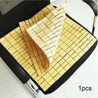 Newest Two Sizes Bamboo Mat Summer Mat Car Seat Pad Quartet Cool Pad Office Chair Home House Sofa Car Seat Cushion Anti Slip Hot