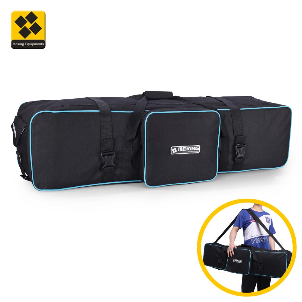 Meking 105cm/43in Tripod Bag Photography Equipment For Light Stands Umbrellas Tripod Studio Gear Carrying Case Waterproof