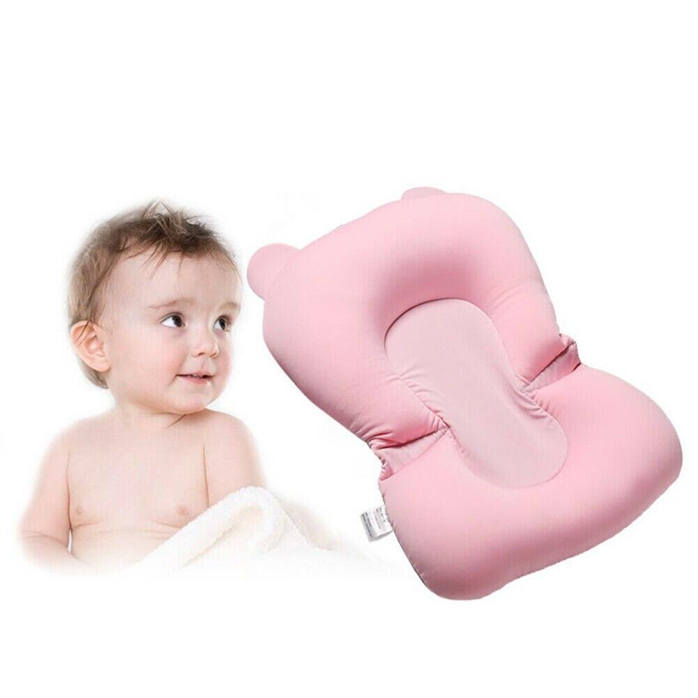 Детский душ, переносная воздушная подушка, детская кровать, детский коврик для ванной, нескользящий коврик для ванной, безопасность для новорожденных, сиденье для купания