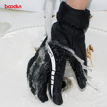 Men Women Reflective Ski Gloves Waterproof Windproof Winter Thermal Fleece Snowboard Gloves Antislip Outdoor Snow Skiing Gloves 2018 new lover men and women windproof waterproof thermal male snow pants sets skiing and snowboarding ski suit men jackets