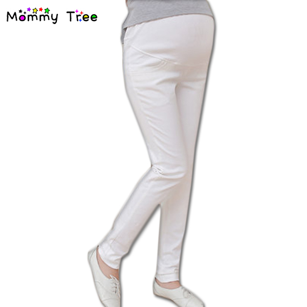 2017 New Autumn Spring Maternity Pants for Pregnant Women Black/White Pregnancy Clothes Plus  Size Pregnant Trousers M-XXL