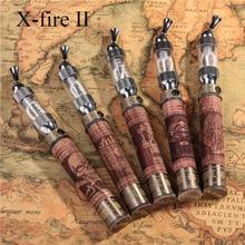 1เซ็ตอีไฟXชุดบุหรี่อิเล็กทรอนิกส์V2 Vaporizerแรงดันไฟฟ้าตัวแปรEfire X-ไฟไม้บิดแบตเตอรี่พร้อมกล่องไม้