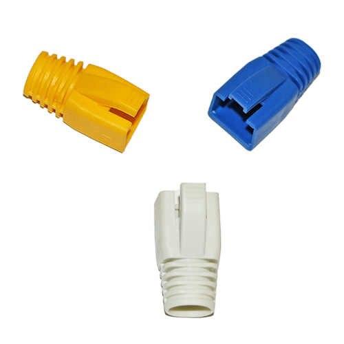 10 adet Cat 7 ağ RJ45 çizmeler beyaz/sarı/mavi renk kedi 7 ağ kablosu, fiş