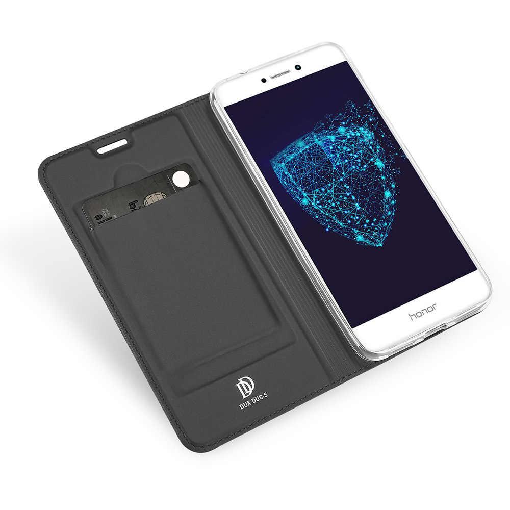 DUX DUCIS Wallet Flip Case For Huawei P8 P9 Lite 2017 Honor 8 Lite Case Honor8 Lite/Nova Lite Luxury PU Leather Cover Cases