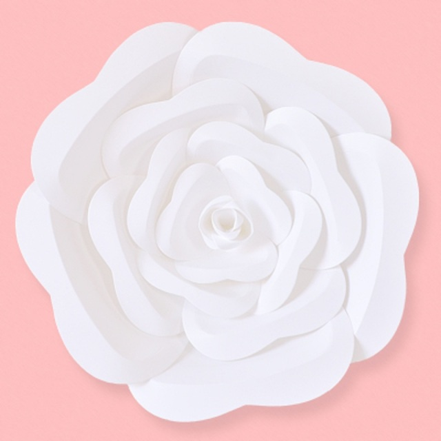 Aliexpress buy diy giant paper flowers flores de papel large diy giant paper flowers flores de papel large paper rose for wedding event decorations backdrops mightylinksfo