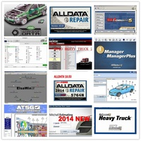 2019 hot sale Alldata 10.53V Mitchell on demand software all data mitchell heavy truck Motor elsawin6.0 vivid atsg 50 in 1tb HDD