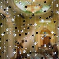 Cristal perle Rideau De Mode Intérieur Décoration de La Maison De Luxe De fond De Mariage Décoration Fête de fournitures de fête