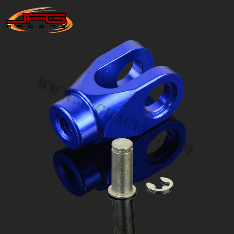 CNC REAR BRAKE CLEVIS FOR YZ125 YZ250 YZ250F YZ450F YZ250X YZ250FX WR250F WR450F MOTOCROSS ENDURO SUPERMOTO DIRT BIKE