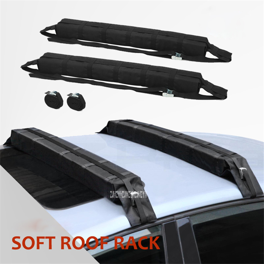 Ordinary Canoeing Surfboard Snowboarding EVA Roof Soft Rack Y04003 Material 600D Oxford Bag, PP Webbing, Top Frame Material EVA