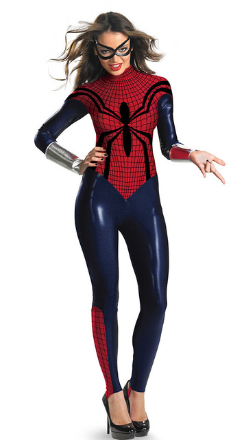 sexy Spinne Halloween Kostüm