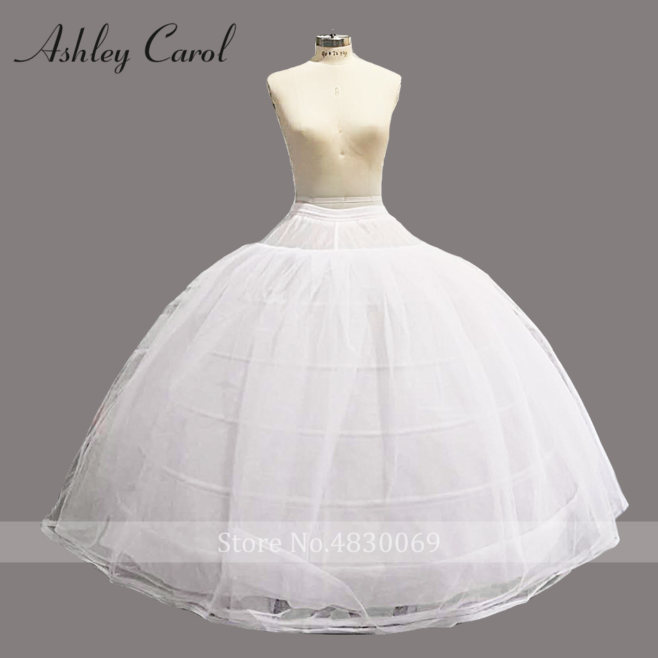 Ashley Carol Wedding Petticoat For Royal Train Ball Gown Wedding Dress 140cm
