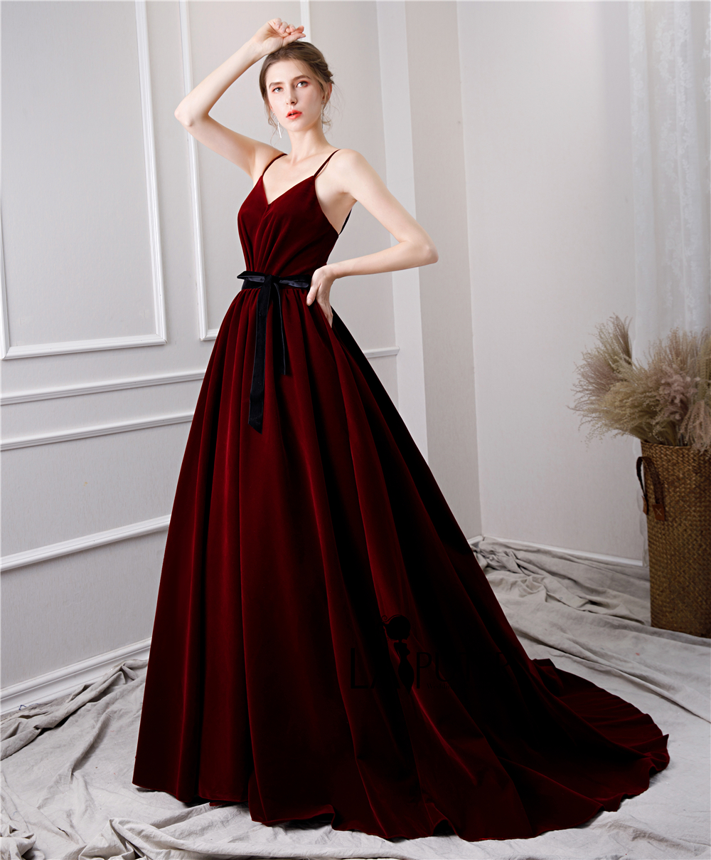 a67d83068a8 Wedding Dress Burgundy Sash - Gomes Weine AG
