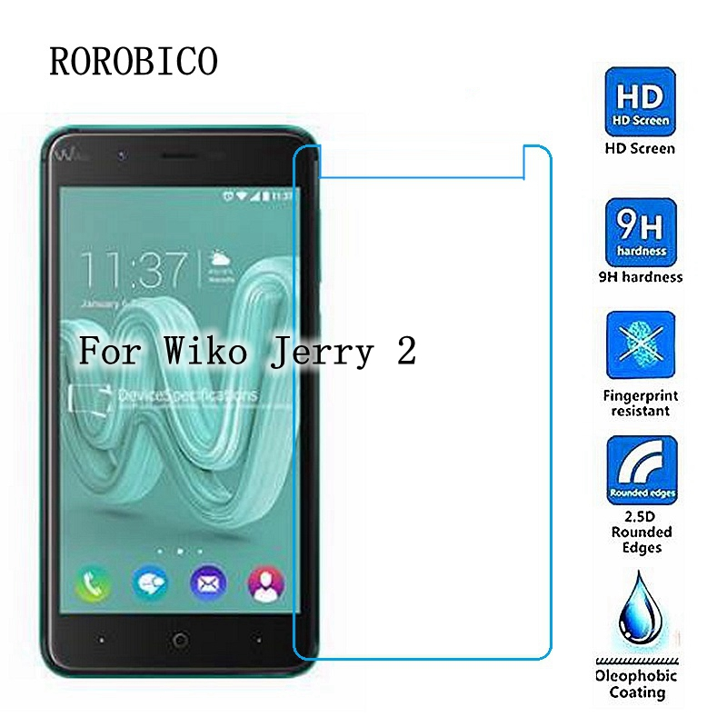 2pcs Tempered Glass film For Wiko Sunset 2 Pulp FAB View Prime U ...