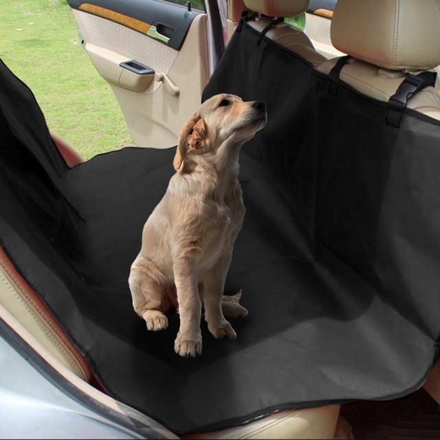Dog Car Protector >> Us 14 25 30 Off Waterproof Pet Car Seat Cover Dog Car Rear Back Seat Protector Mat Anti Scratch Seat Covers Roap Trip Travel Blanket For Pets In Dog