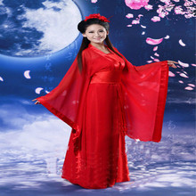 In the summer of 2019, womens Hanfu dance uniform cheongsam soup suit Chinese traditional clothing costumes