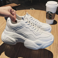 Women Sneakers Ladies Casual Fashion Brand platform Shoes For Woman Shoes luxury Girl Female White Flat Med Wedges Shoes A13