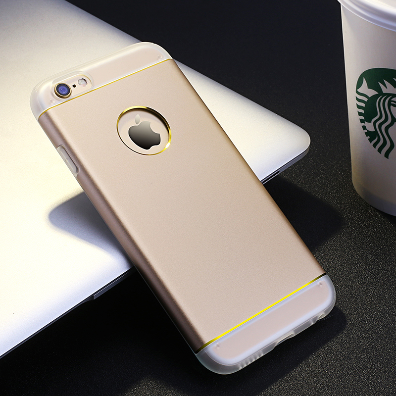 JFX For iPhone6 6s iPhone 6 Plus Silicone Metal 2 in 1