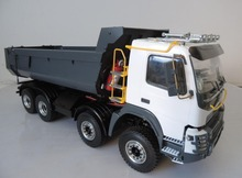 1/14 Scale RC Hydraulic Dump Truck 8×8 1.5 Version