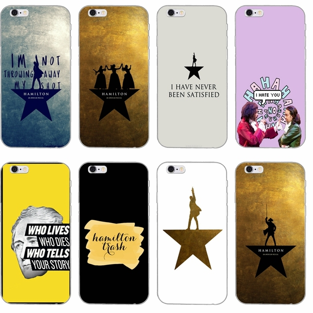 low priced 832c4 fa20e Hamilton Musical Lyrics silicone TPU Soft phone case For Samsung Galaxy J1  J2 J3 J5 J7 A3 A5 A7 2015 2016 2017