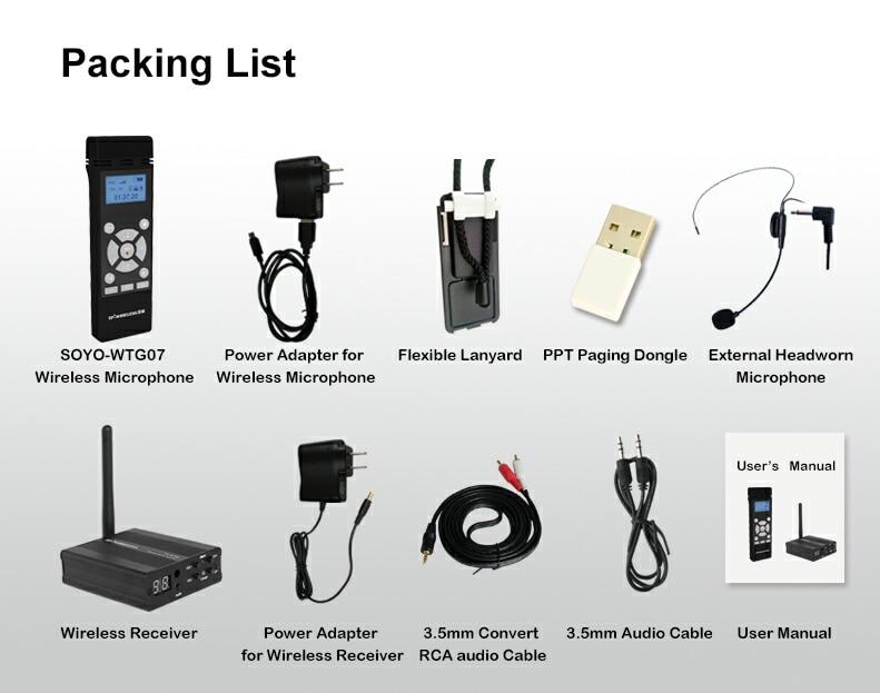 TP-WIRELESS 2.4GHz traadita kaasaskantav mikrofon ja - Kaasaskantav audio ja video - Foto 6