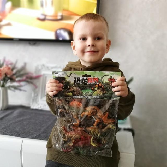 Jurassic Park Dinosaur Toys Model for Child Dragon Toy Set for Boys