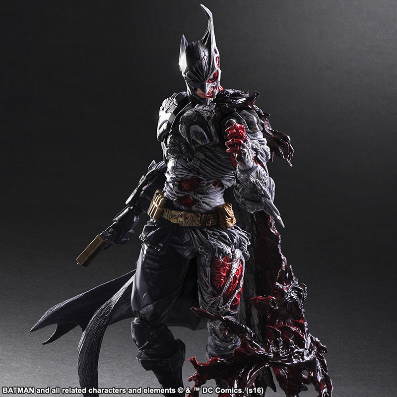 DC COMICS Play Arts KAI Batman Rogues Gallery Two-Face Double Face Doll PVC Action Figure Collectible Model Toys 29cm KT3547 gogues gallery two face batman figure batman play arts kai play art kai pvc action figure bat man bruce wayne 26cm doll toy