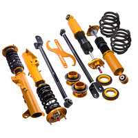Coilover Shock Absorber Strut for BMW E36 316 318 320 328 + Control Arms KIT Suspension Front Rear Top mount Spring